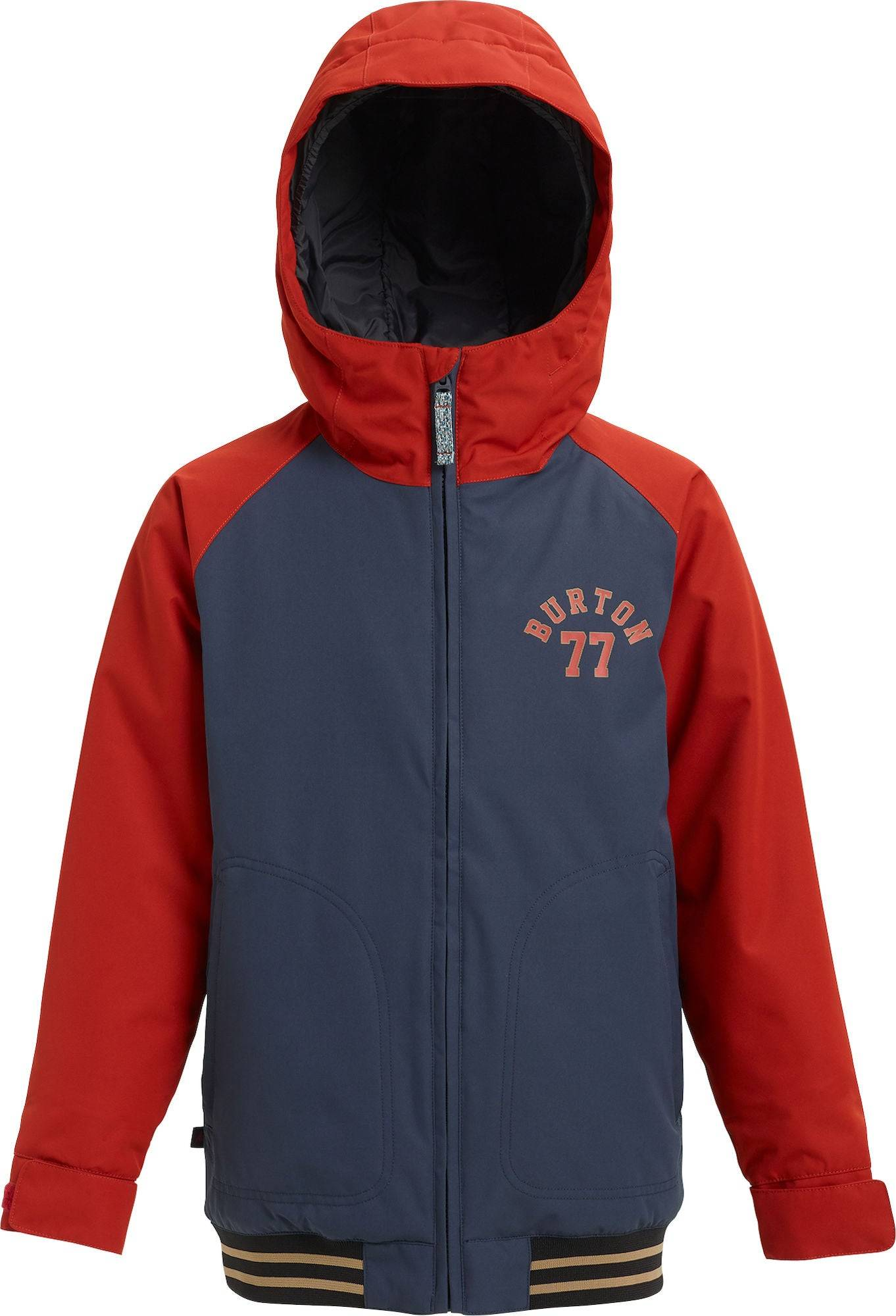 Burton Boys Gameday Jakke, Mood Indigo/Bitters M