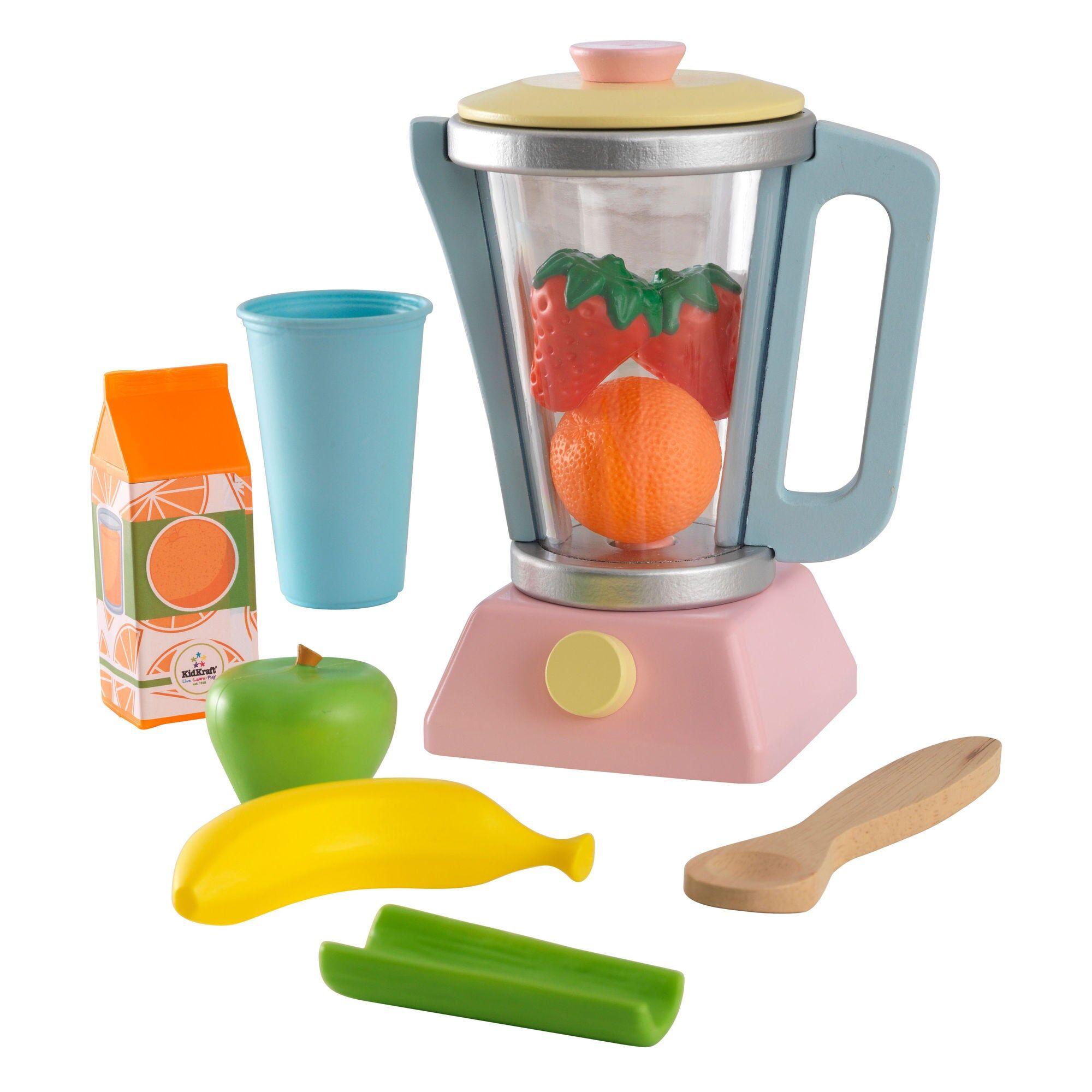 Kidkraft Kjøkkenmaskin Smoothieblender, Pastell