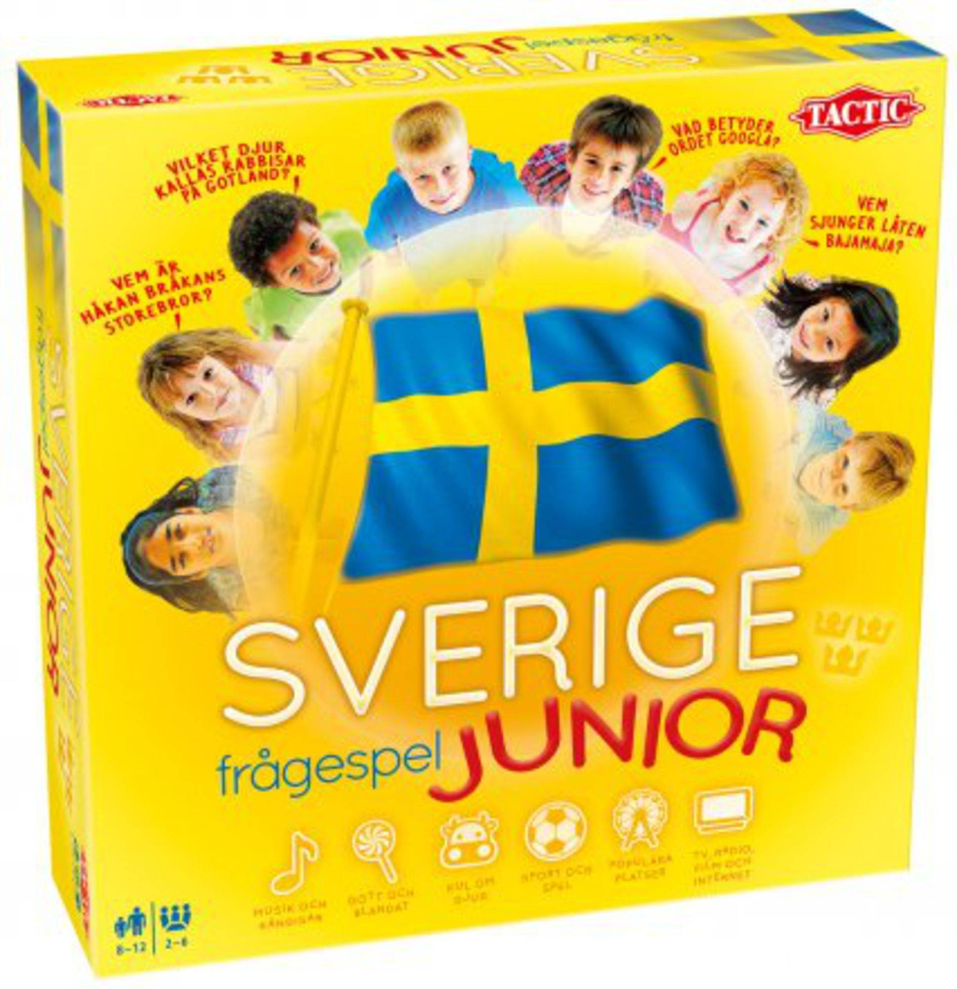 Tactic Spørsmålspillet om Sverige Junior