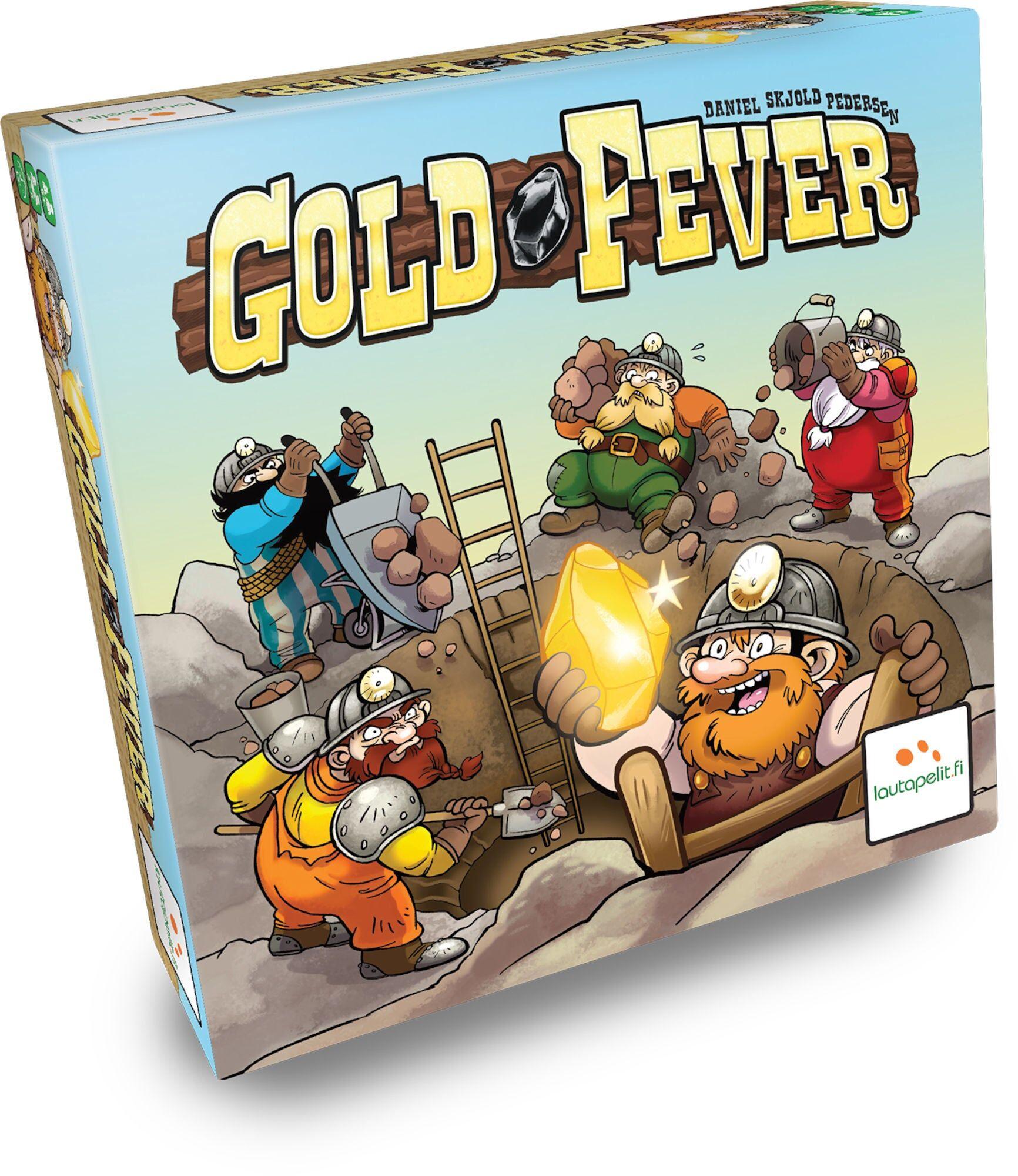Brädspel.se Gold Fever Barnespill
