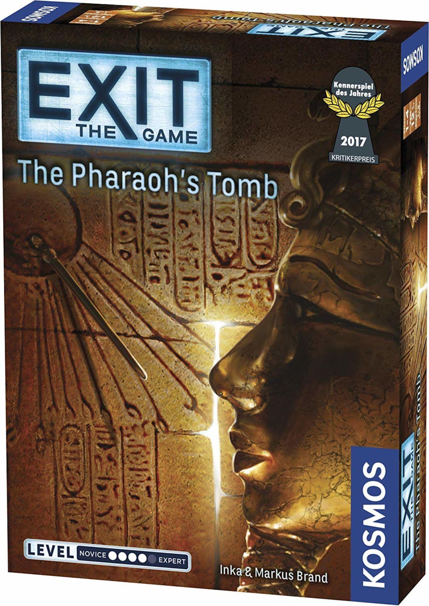 Brädspel.se Exit: The Pharaoh's Tomb Selskapsspill