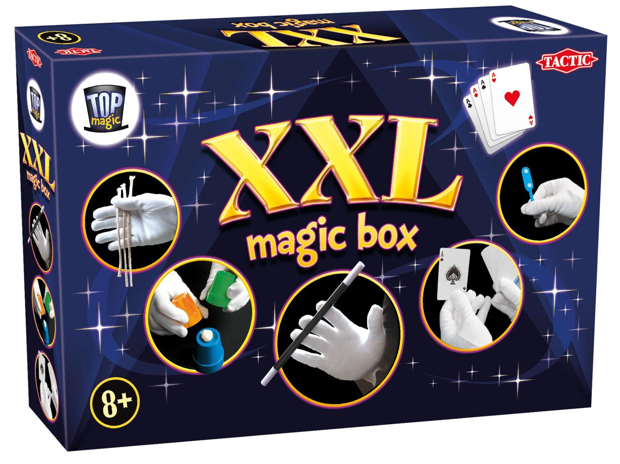 Tactic Top Magic XXL Trylleeske