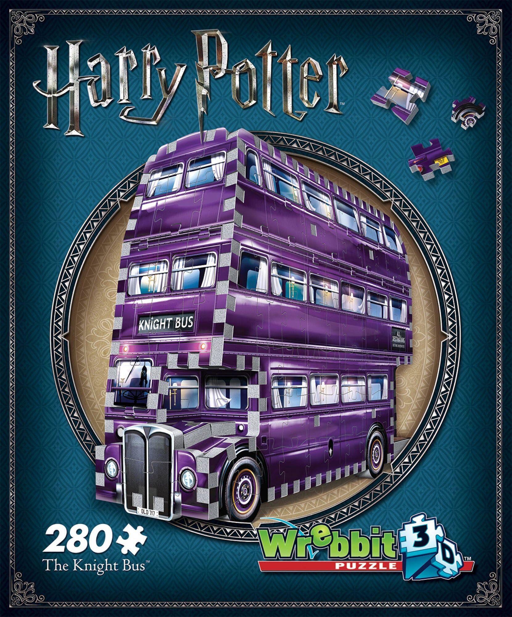 Wrebbit Harry Potter 3D-puslespill Nattbussen 280 Biter