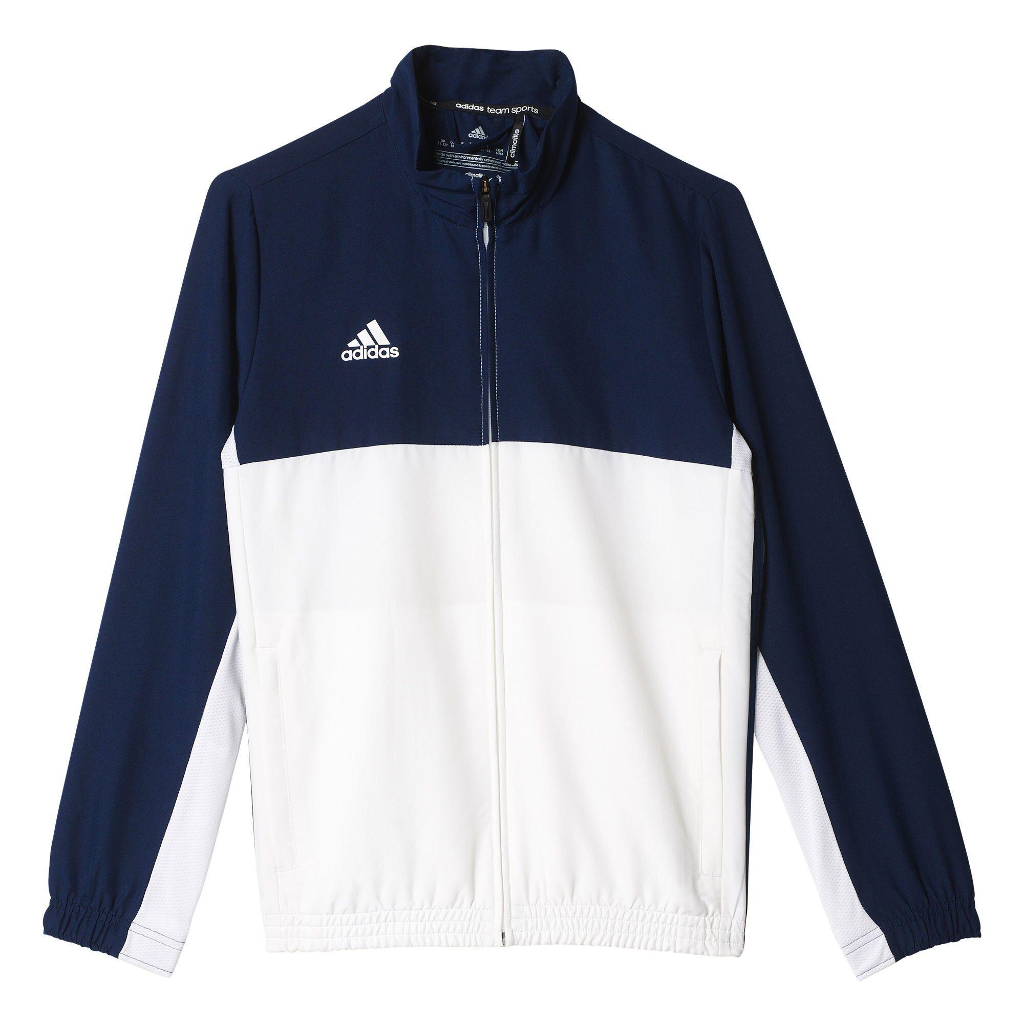 Adidas T16 Team Jacket Y Treningsjakke, Navy 128