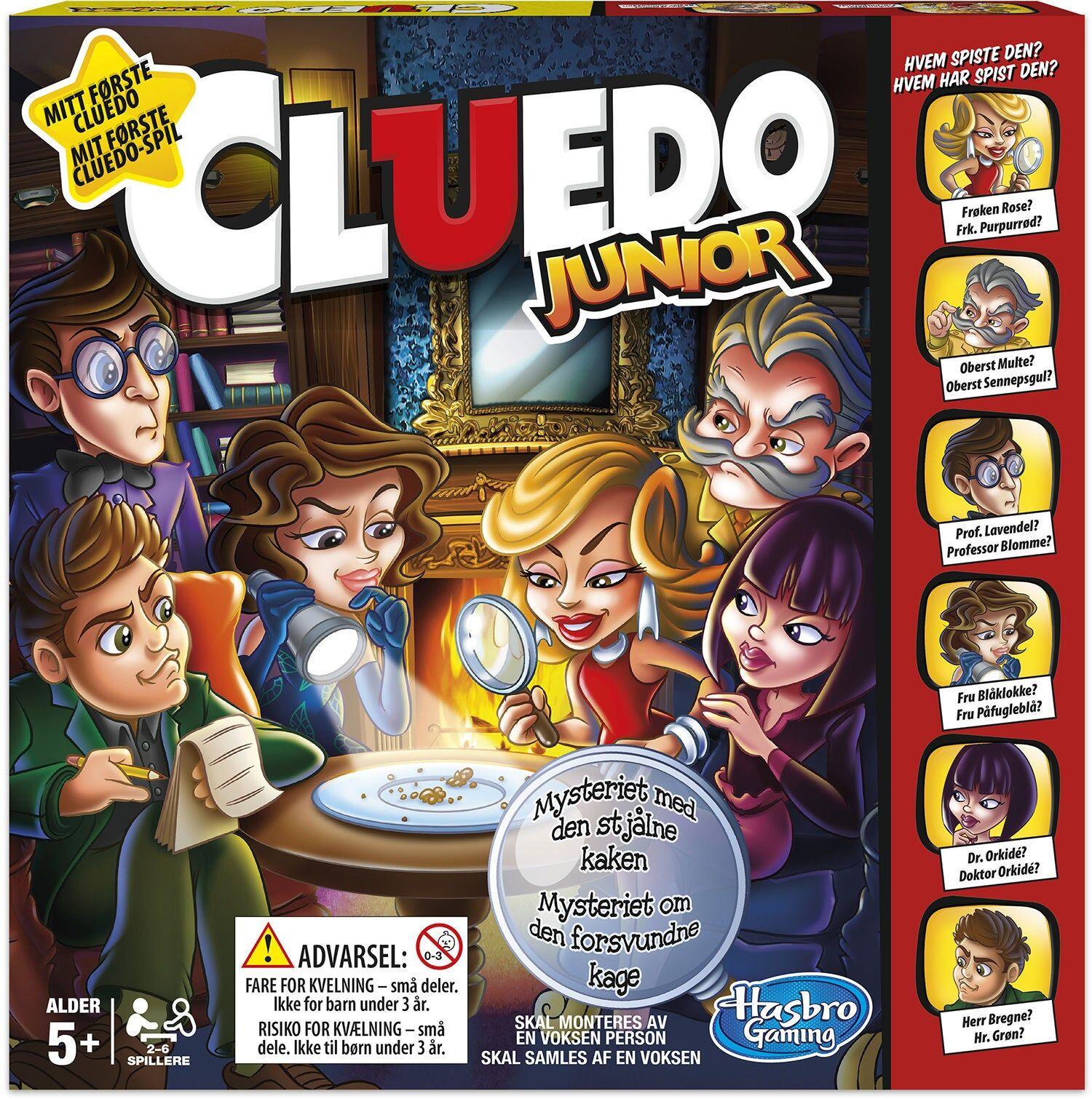 Hasbro Spill Cluedo Junior