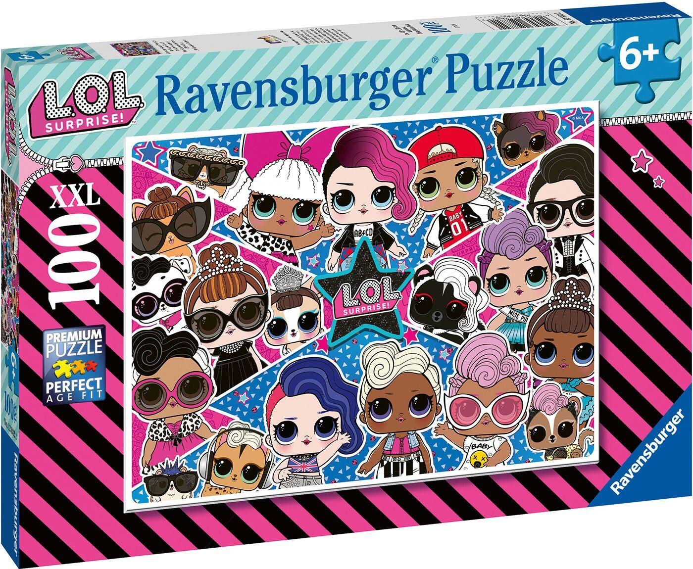 Ravensburger Puslespill L.O.L. Surprise! XXL 100 Brikker