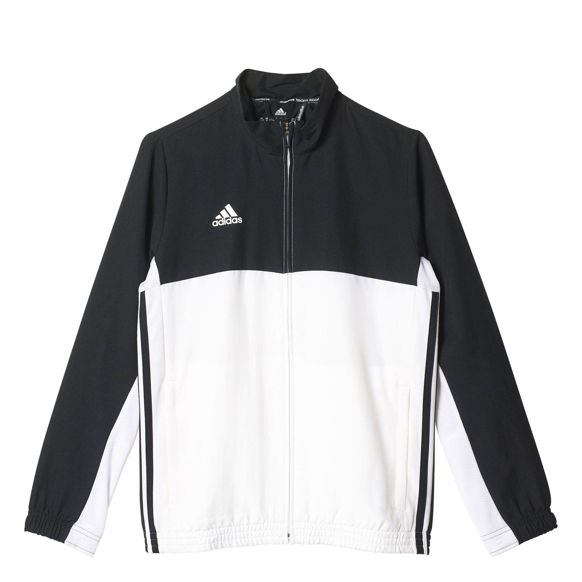 Adidas T16 Team Jacket Y Treningsjakke, Black 140