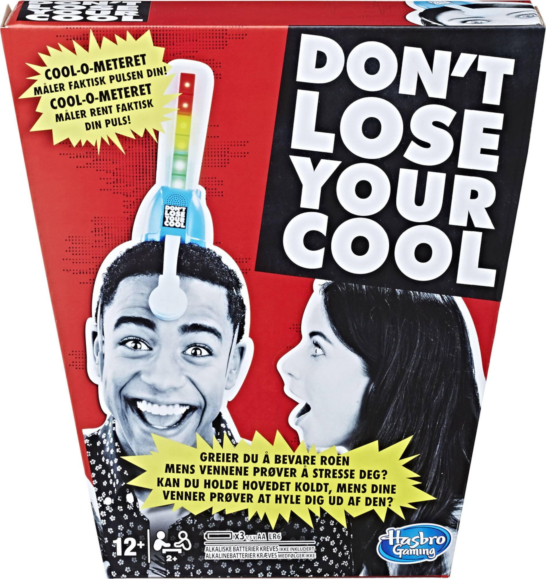 Hasbro Spill Don´t Lose Your Cool