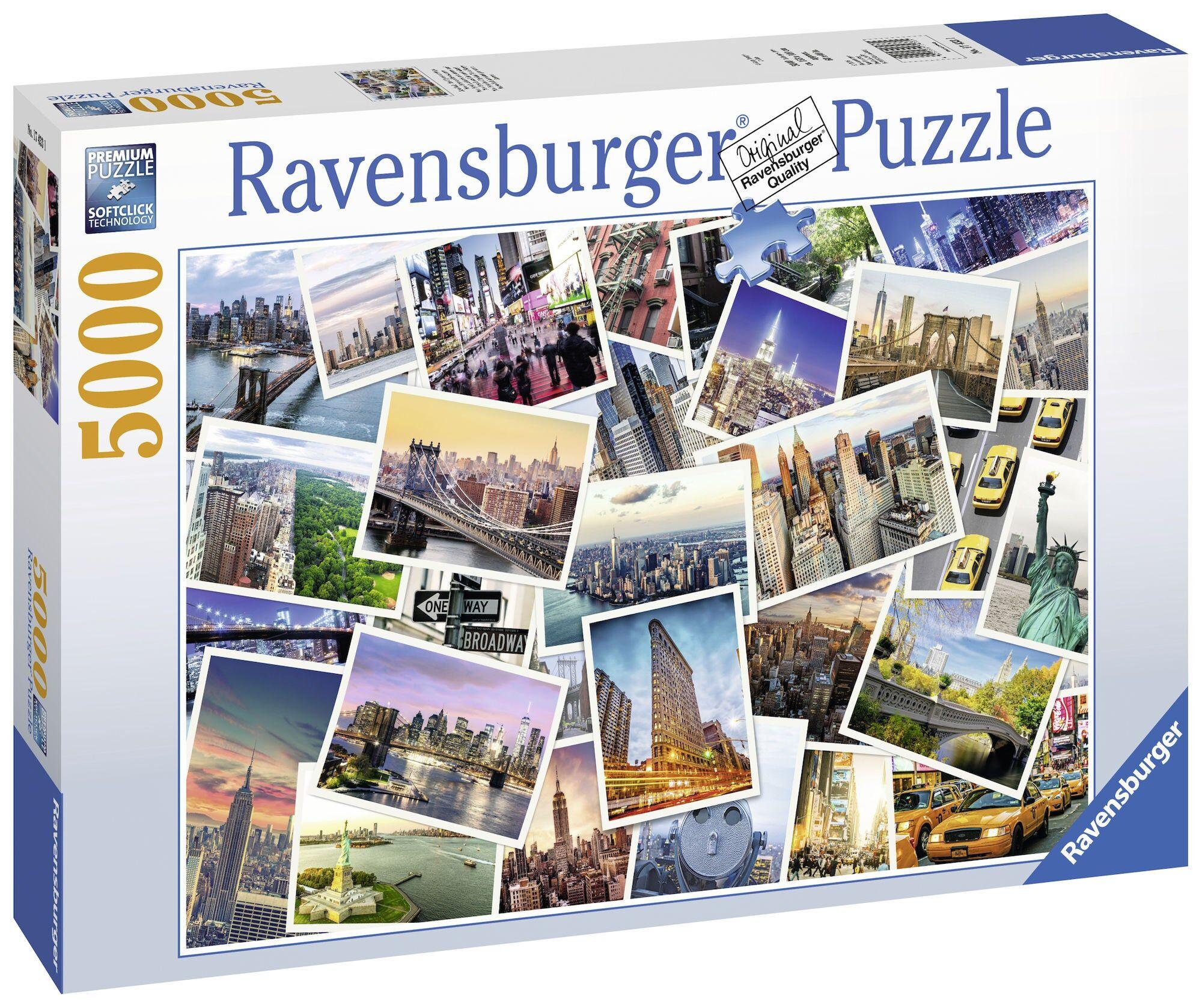 Ravensburger Puslespill New York City 5000 Biter