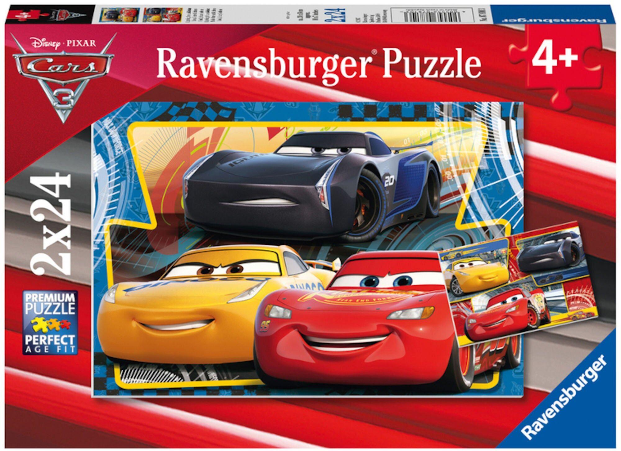 Disney Ravensburger Disney Cars 3 Puslespill 24 Biter