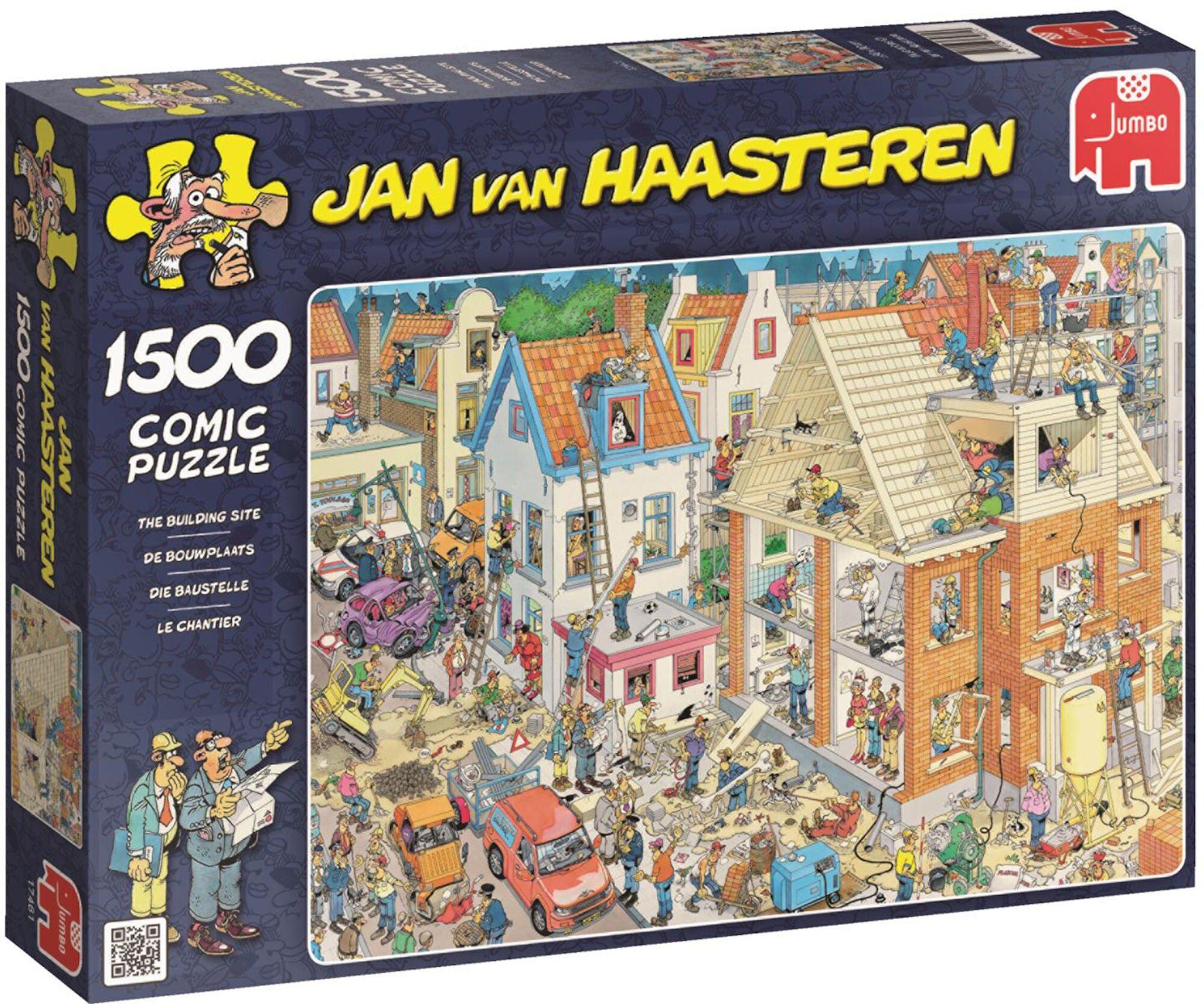 Jumbo Puslespill Jan van Haasteren Building Site 1500
