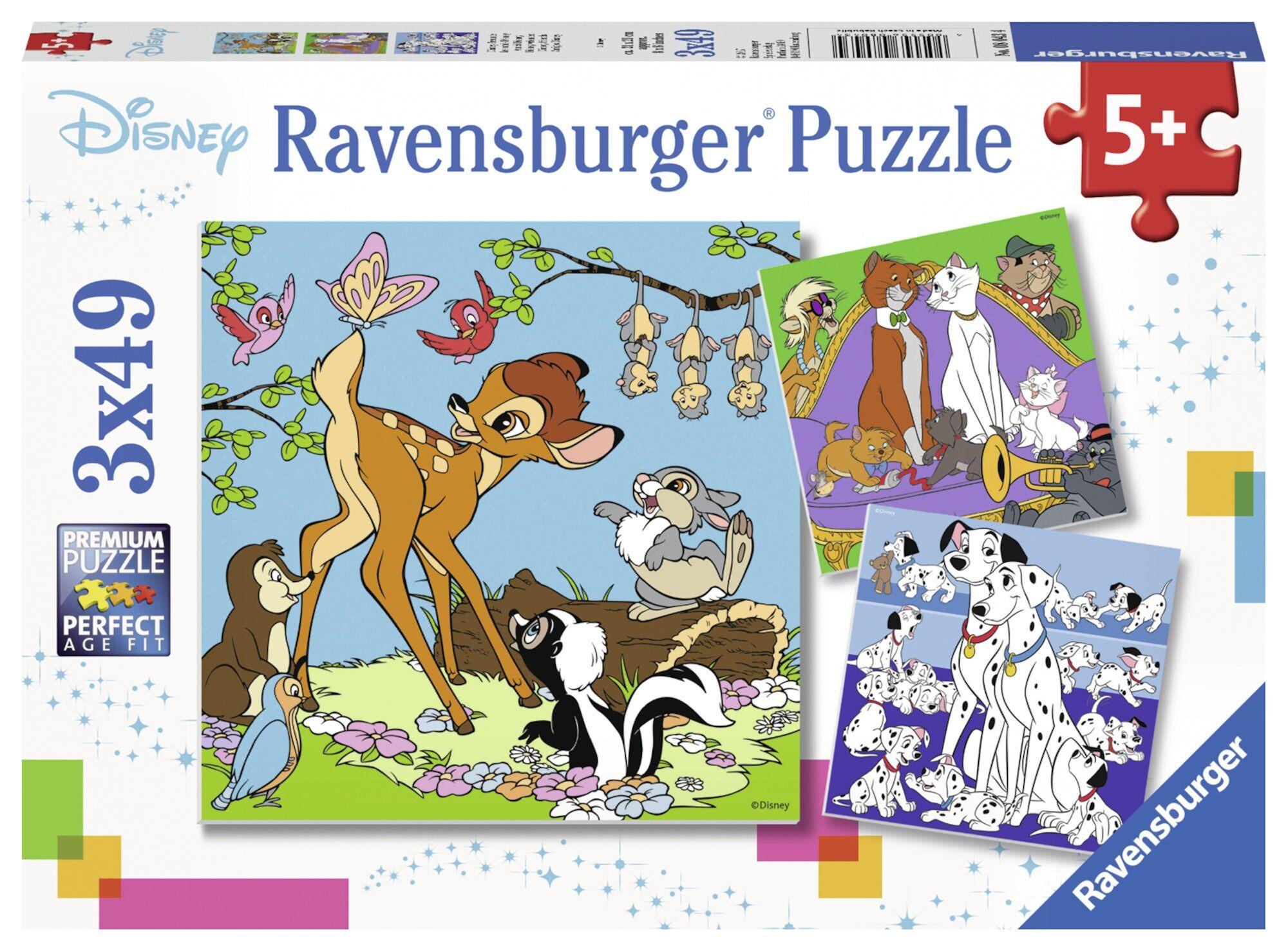 Ravensburger Puslespill Disney Friends 3x49 Biter