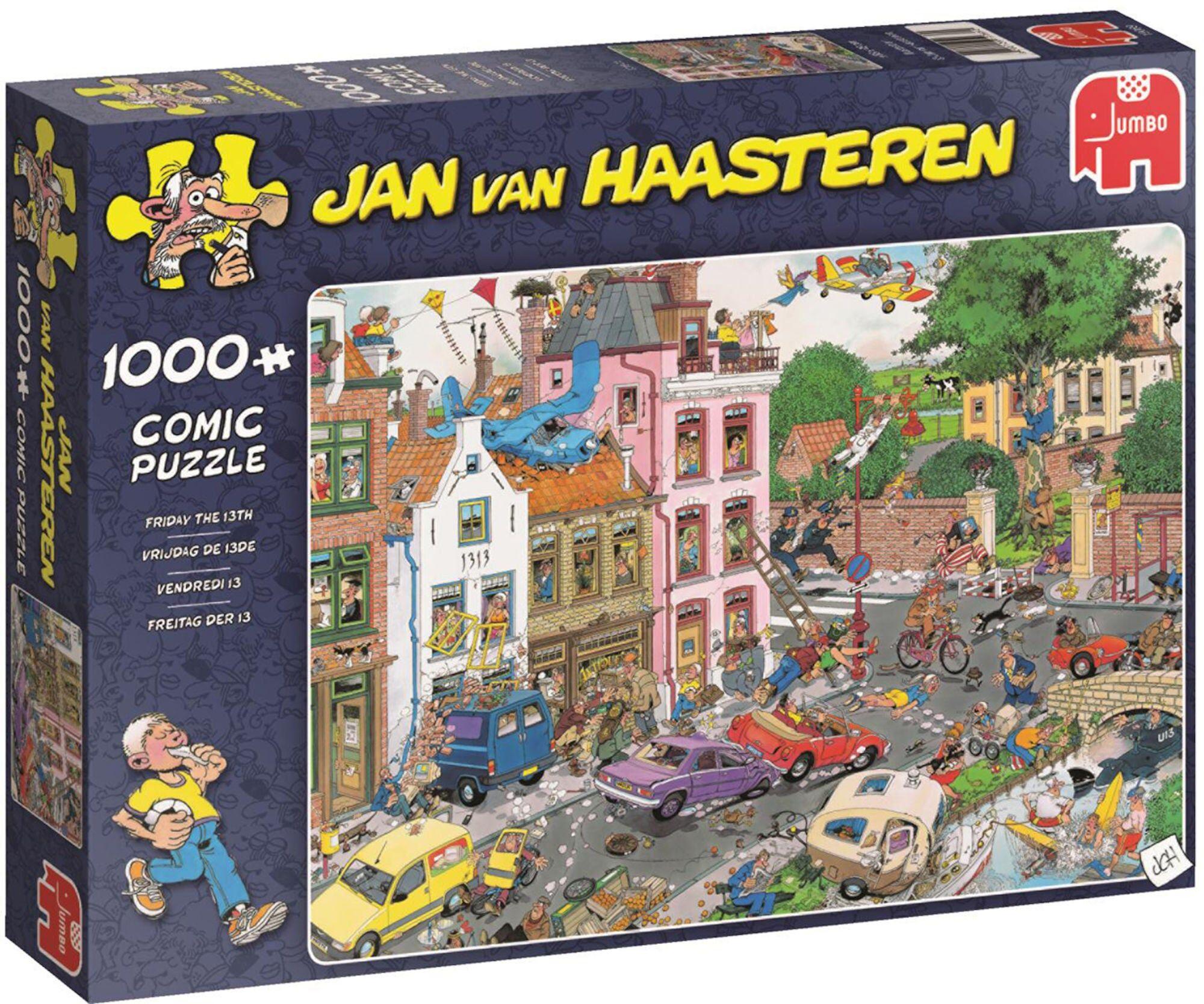 Jumbo Puslespill Jan van Haasteren Friday The 13TH 1000