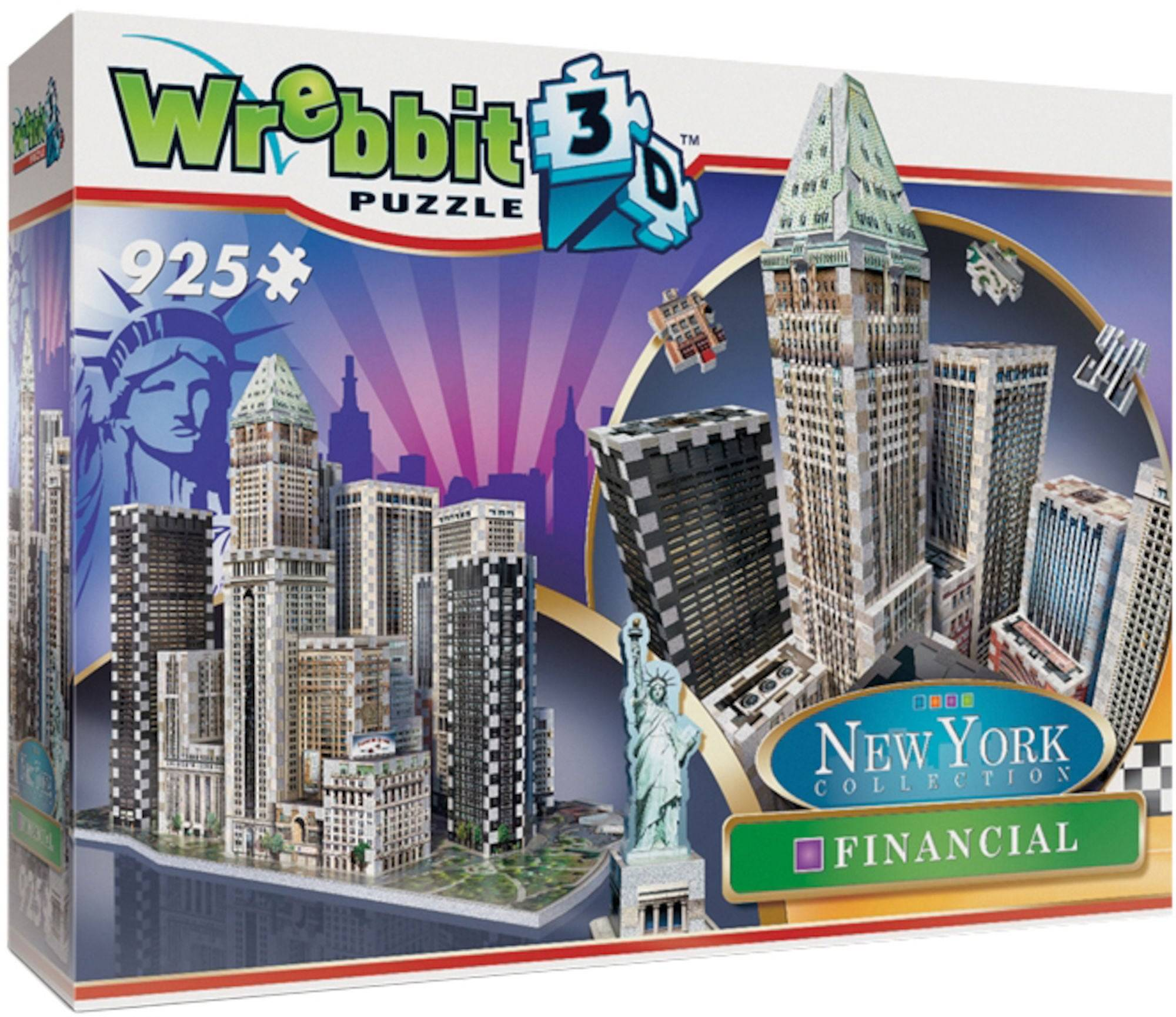 Wrebbit New York Financial District Puslespill