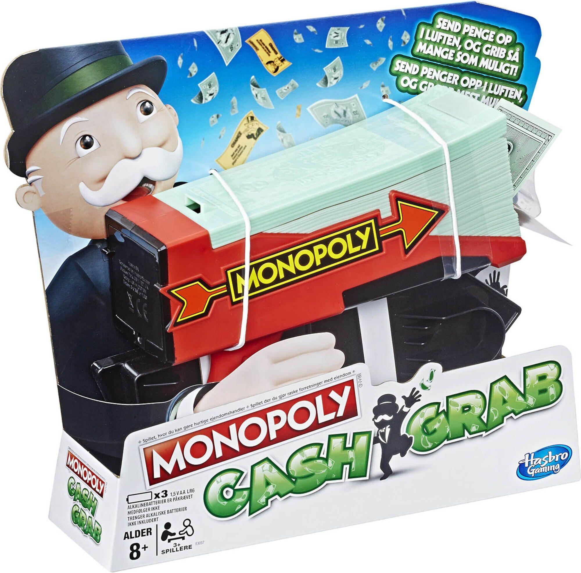 Hasbro Spill Monopol Cash Grab