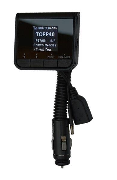 POPyourCAR 2.1 - DAB+ radio adapter til bil