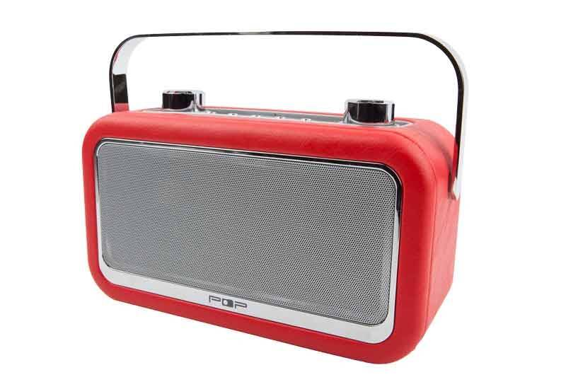 POPvintage BT radio, kjøkkenradio med dab+, fm og bluetooth