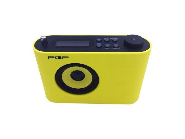 POP17, ikonisk design-radio med DAB+, fm og alarm