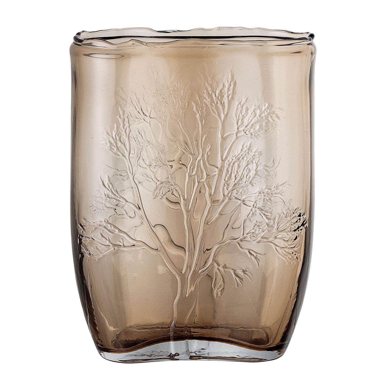 Bloomingville-Vase Glass H26cm, Brown