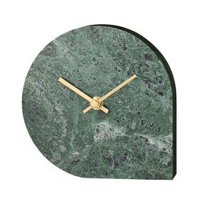 AYTM -Stilla Bordklokke, Grønn Marmor
