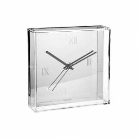 Kartell -Tic&Tac klokke, Sølv
