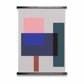 Paper Collective -Wrong Geometry 02 Poster 50x70cm