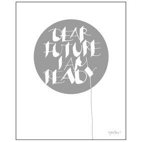 Ylva Skarp -Dear Future Poster