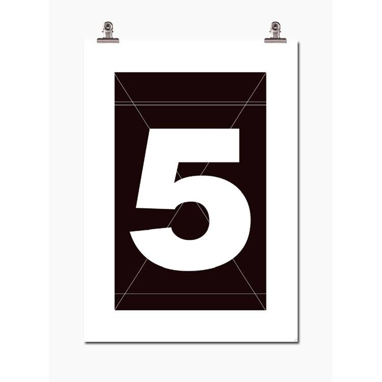 Wallstuff-Number Five Poster