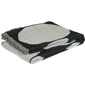 Marimekko -Kivet Blanket 140x190 cm, Off-white/Black