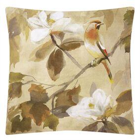 Designers Guild -Maple Tree Cushion 55x55 cm, Sepia