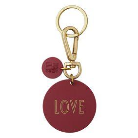 Design Letters -Nøkkelring, Home/Love