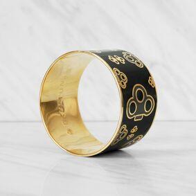 Skultuna -The Key Bracelet S, Grey/Green