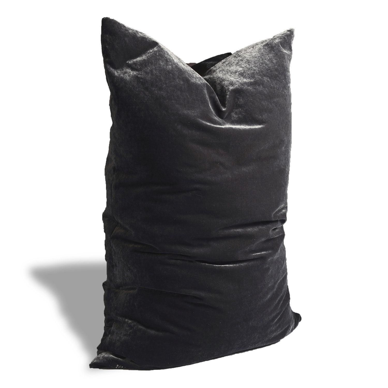 Dirty Linen-Plain Putetrekk 70x100cm, Raven