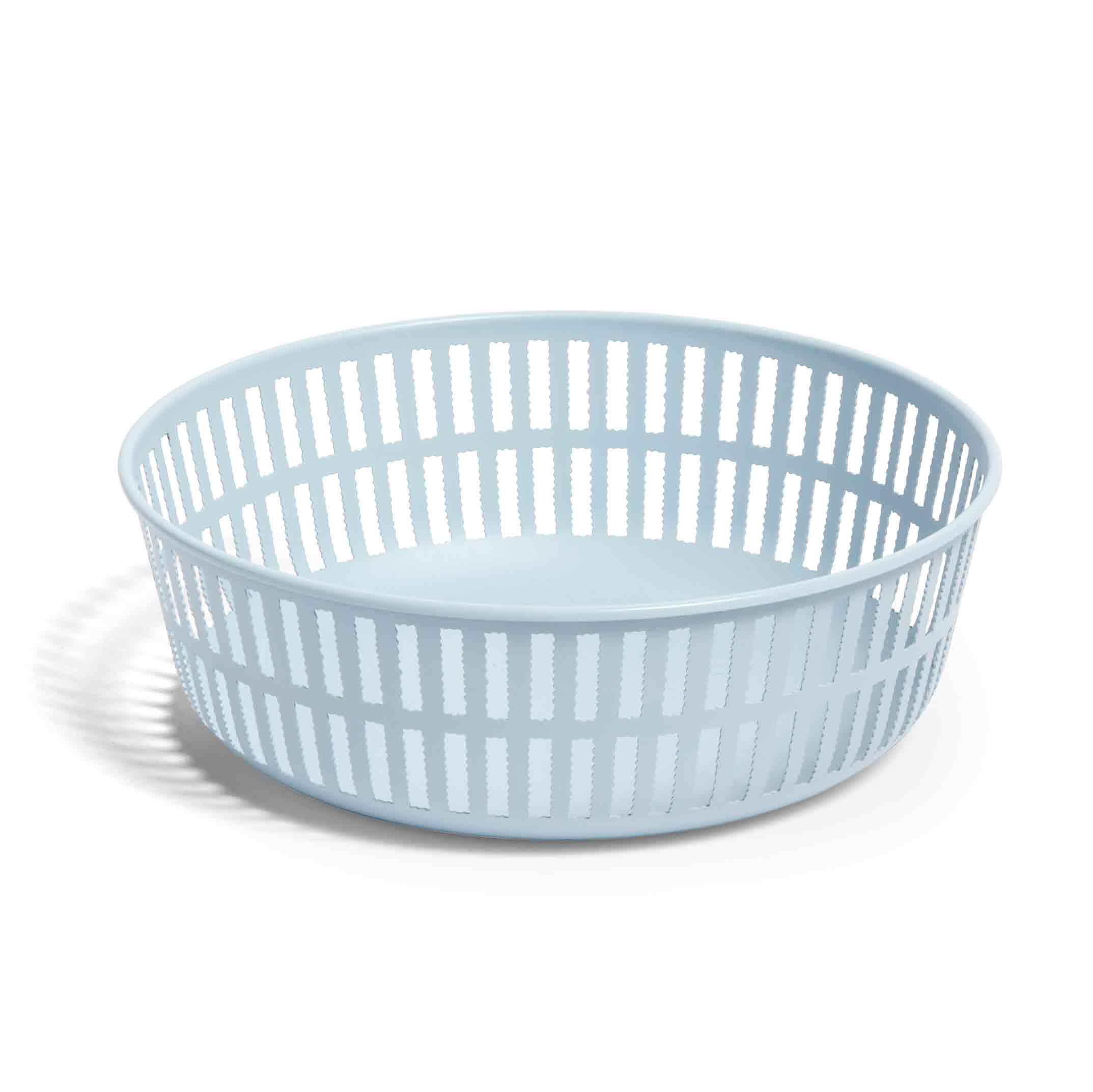 Hay-Panier Basket Round, Light Blue