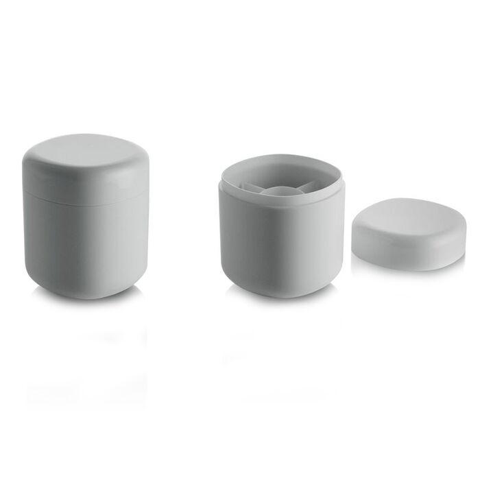 Alessi Birillo Beholder Til Q-tips, Hvit, 11x9x9cm