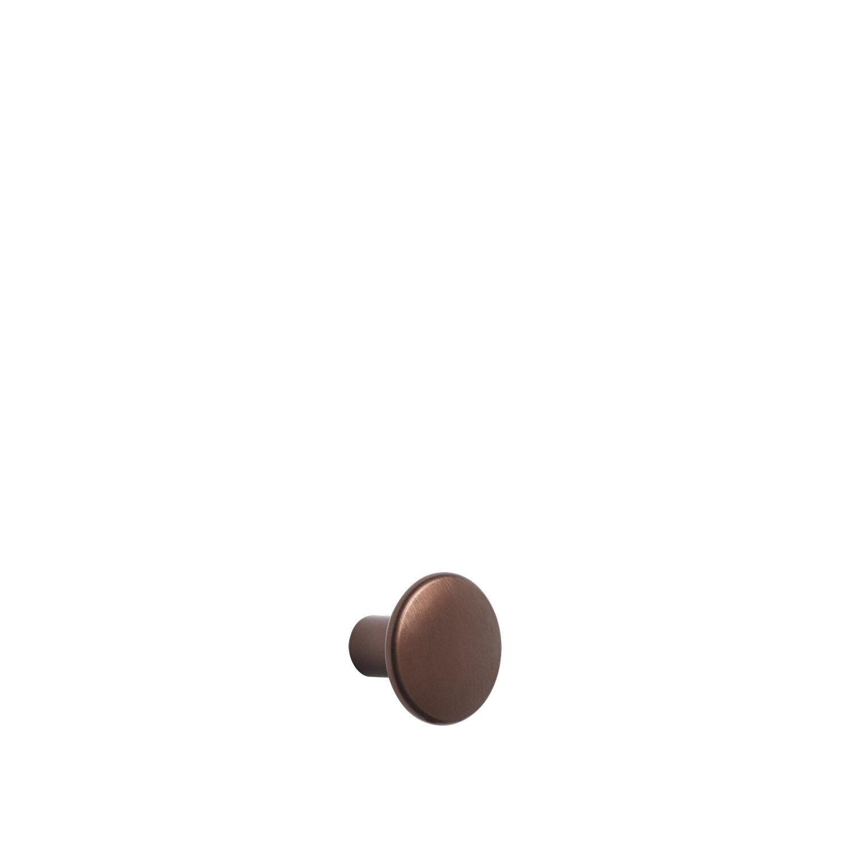 Muuto-The Dots Metal Knagg Small, Umber