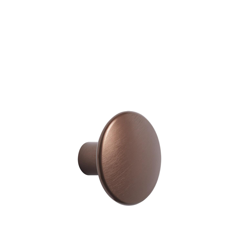 Muuto-The Dots Metal Knagg Medium, Umber