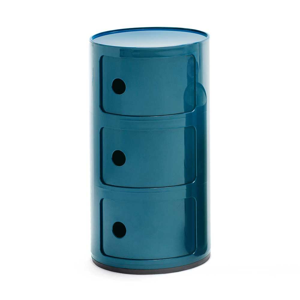 Kartell-Componibili Oppbevaring 3 Rom, Blå