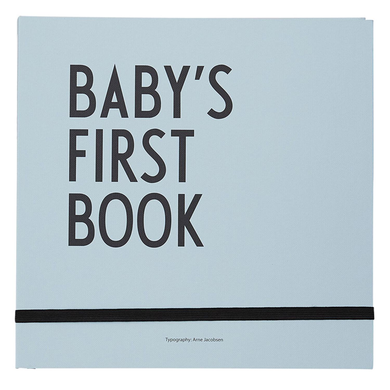 Design Letters-Barnets Første Bok, Turkis