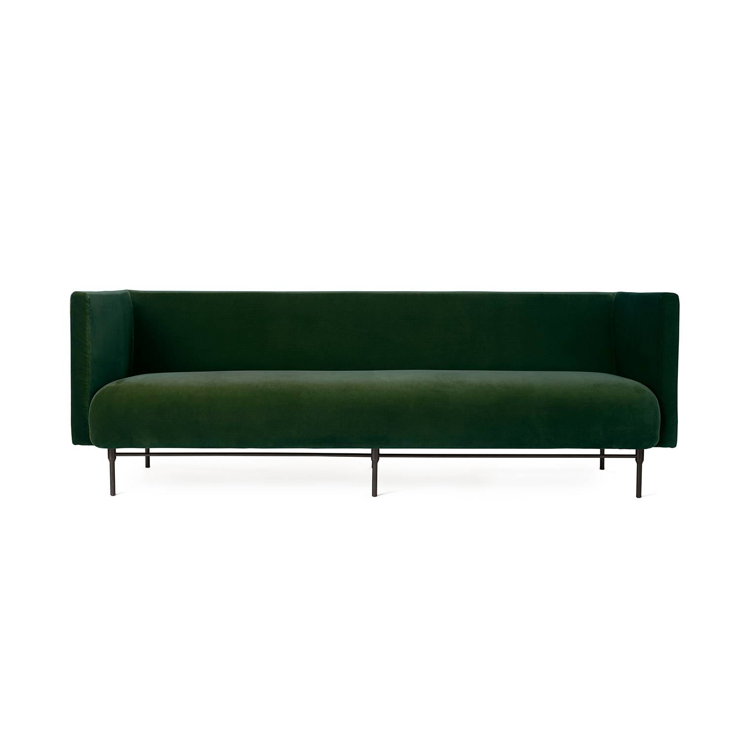 Warm Nordic-Galore 3-Seters Sofa, Forest Green