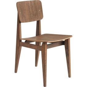 Gubi -C-Chair Stol, Finér / Oljet Valnøtt