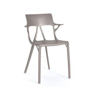 Kartell -A.I. Stol, Metallic Grey