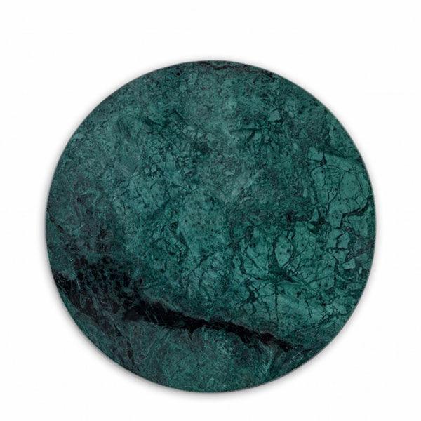 Nordstjerne-Green Marble Skjærebrett, Rund, Grønn