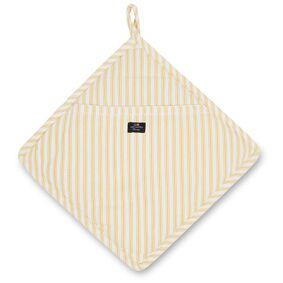 Lexington -Icons Herringbone Striped Pot Holder, Yellow