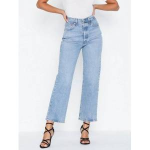 ASOS DESIGN Tall Skinny Twisted Seam Jeans In Light Wash
