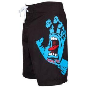 Santa Cruz Screaming Hand Boardshorts (Svart)
