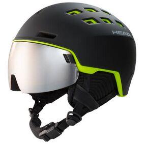 Head Skihjelm Head Radar Visir (Svart/Grønn)