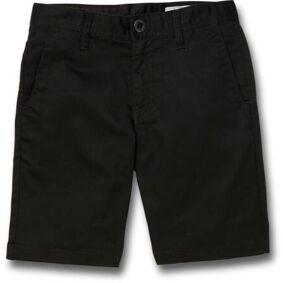 Volcom Frickin Chino Youth Shorts (Svart)