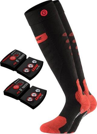 Lenz Heat Sock 5.0 + Batteri (Svart)