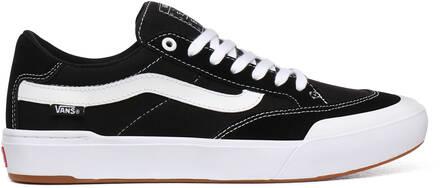 Vans Berle Pro Skate Sko (Black/True White)